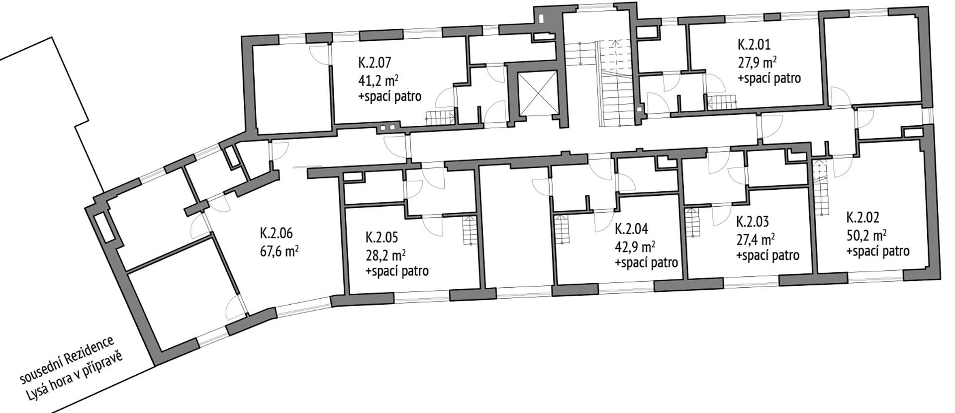 Apartmány 2. NP Kotel